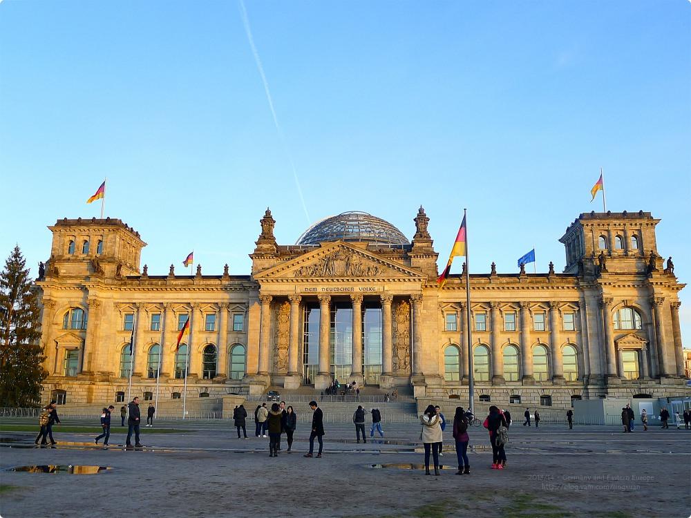 [德國遊誌] 柏林-德國國會大廈 免費進入圓頂參觀 Reichstag/Deutscher Bundestag
