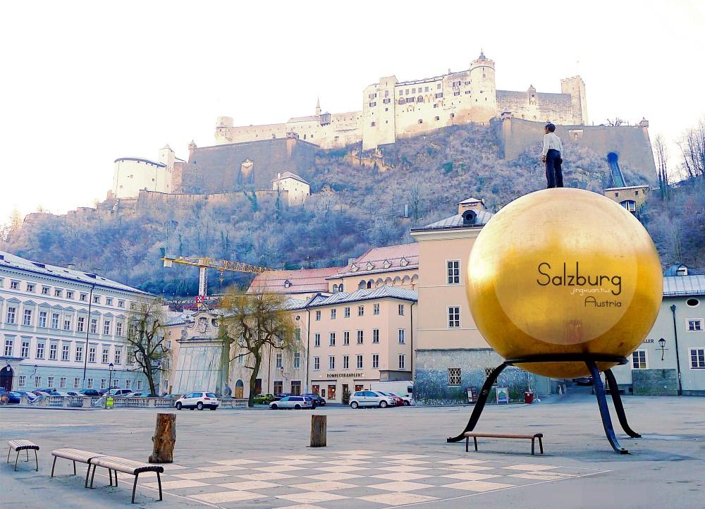 [奧匈捷遊記] 薩爾察赫河左岸 薩爾斯堡老城區-世界遺產 糧食胡同 格特萊德街 莫扎特誕生故居 薩爾斯堡主教座堂 穿越中古世紀 Salzburg Old Town