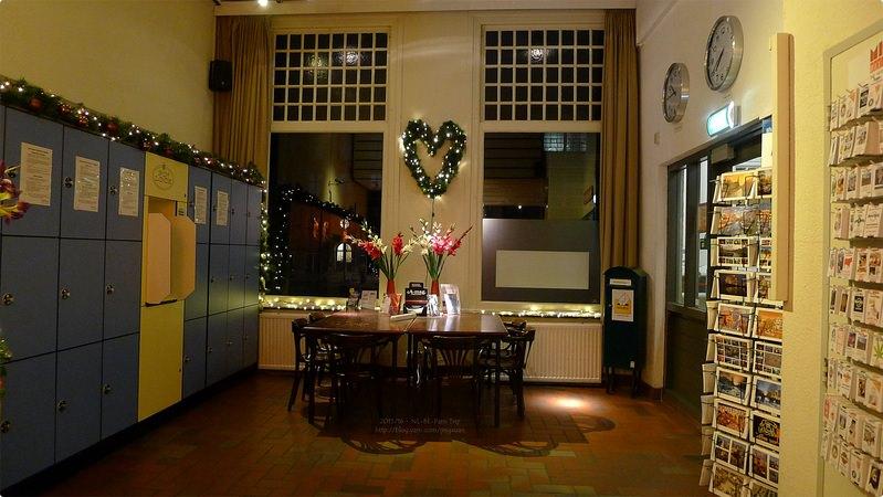 [荷比巴黎遊誌] 阿姆斯特丹青年旅館-Stayokay Amsterdam Stadsdoelen 運河河畔住宿 近火車站唐人街與紅燈區