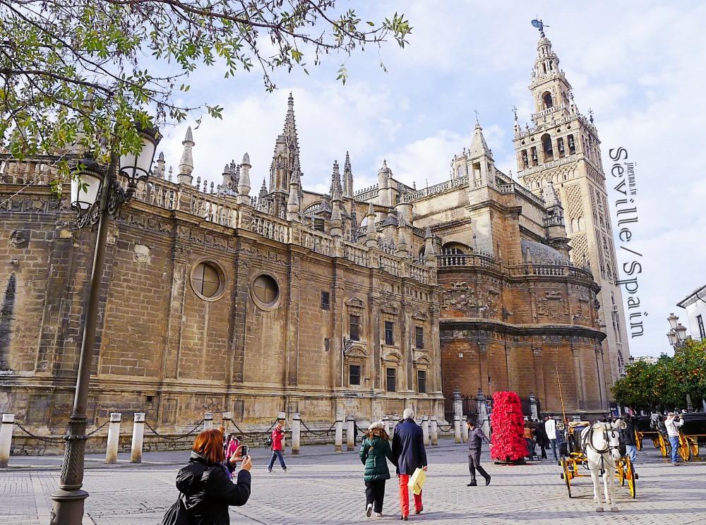 [西班牙遊食記] 從格拉納達搭長途巴士到塞維亞Prado de San Sebastián巴士總站 武器廣場 中央廣場 Plaza de Armas Mercadona採買 麥當勞午餐 Bus from Granada to Seville