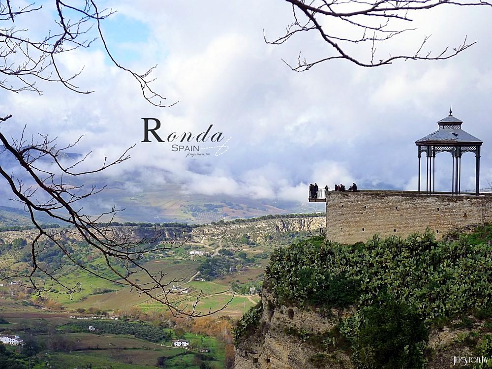 西班牙、安達盧西亞|隆達 Ronda.峭壁上的古城、橫跨峽谷的新橋 Puente Nuevo、海明威《戰地鐘聲》故事發生地