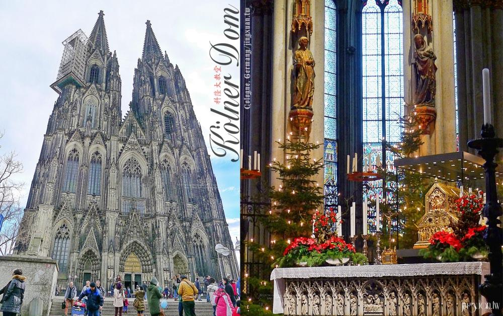德國自助、科隆景點|科隆大教堂.保存東方三博士聖髑、世界遺產,世界上第三高、第三大哥德式教堂