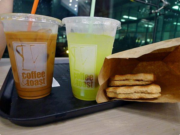 新加坡機場美食|Coffee & Toast.紅眼航班也不怕,樟宜機場第一航廈好喝酸柑檸檬汁!