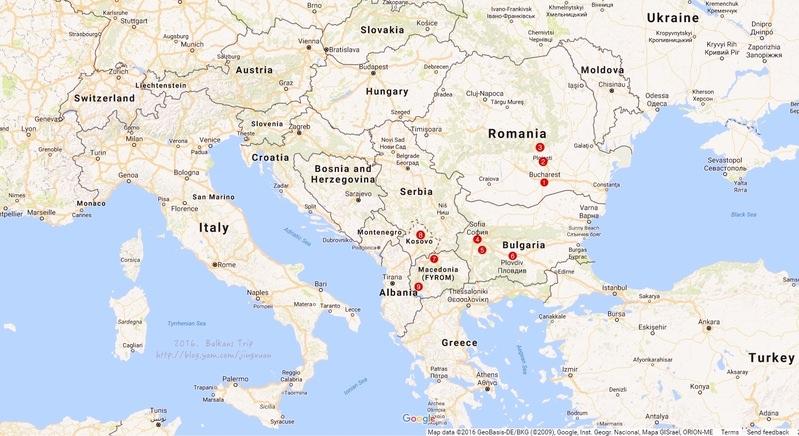 巴爾幹半島自助| 羅馬尼亞、保加利亞、馬其頓以與科索沃行前規劃與準備(含住宿交通、票卷、美食料理、餐廳等).Travel plan of Romania, Bulgaria, Macedonia and Kosovo