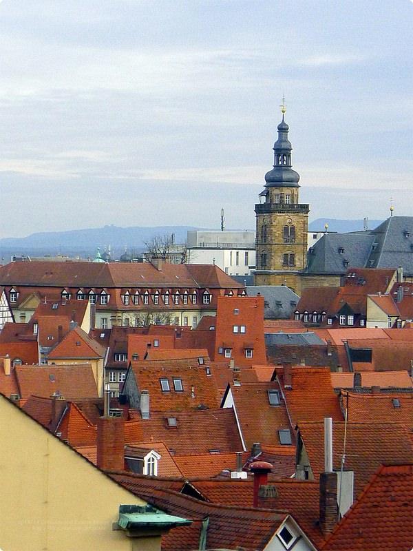 [德國遊誌]Bamberg:大教堂等.Dom, Alte Hofhaltung and Neue Residenz(Rose Garden)