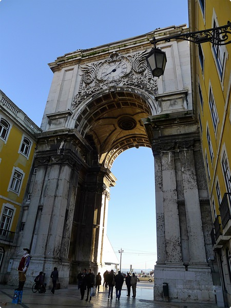 [葡萄牙遊誌]Lisboa:商業廣場等.Praça do Comércio, Rua da Prata, etc.