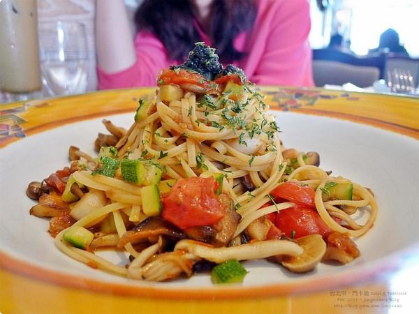 [食誌]台北市.門卡迪碳燒咖啡廳 M café Dolci & Trattoria(1)