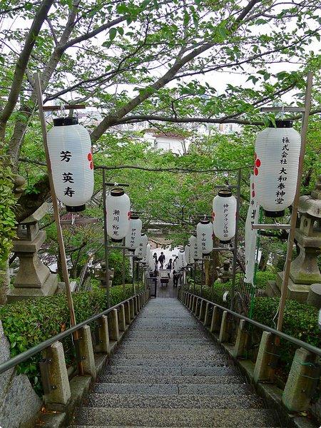 [日本遊誌]Kobe:北野天滿神社(Kobe Kitano Tenman Shrine)