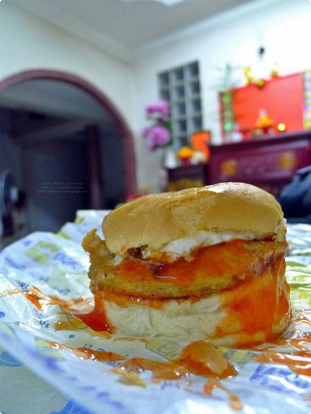 [馬新食誌]J.B., M'sia:馬來式漢堡.Ramly Burger Stall(Malay Style), Tmn Century