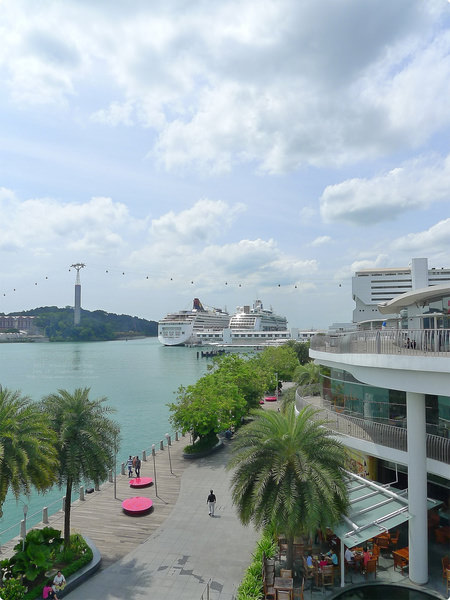 [馬新遊誌]HarbourFront, S'pore:Vivo City and Sentosa
