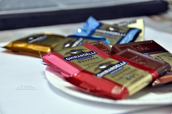 [食誌]伴手禮.Ghirardelli Chocolate Squares, San Francisco, U.S.