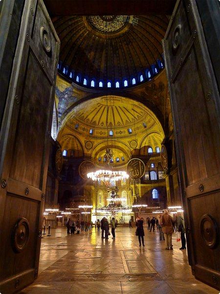 [土耳其遊誌] 聖索菲亞博物館(2)-1500年歷史 曾是世界上最大的教堂 拜占庭及伊斯蘭建築樣式的融合 AyaSofya Müzesi (Hagia Sophia Museum), Istanbul