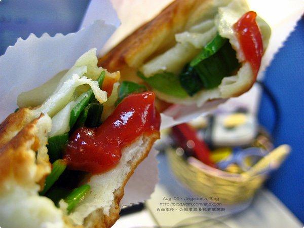 [食誌]台北市.公館廖家食記.宜蘭蔥餅 Green Onion Pancake