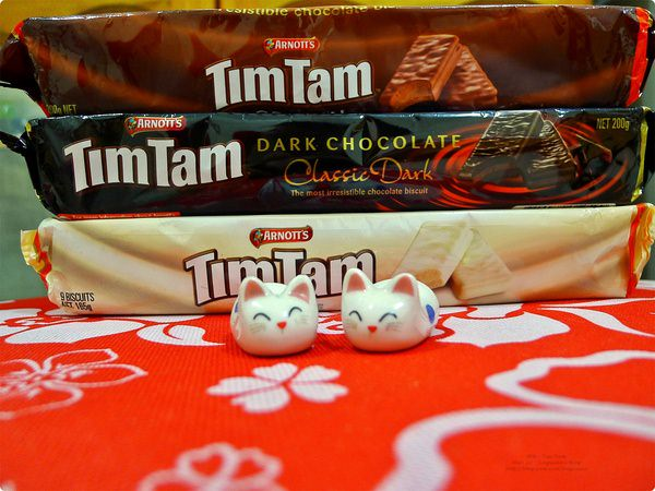 [食誌]伴手禮.Arnott's Tim Tam(Original, White, Dark Chocolate), Australia