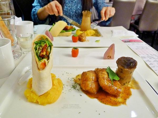 [食誌]台北市.舒果.新米蘭蔬食(羅斯福店)Sufood Restaurant(2)