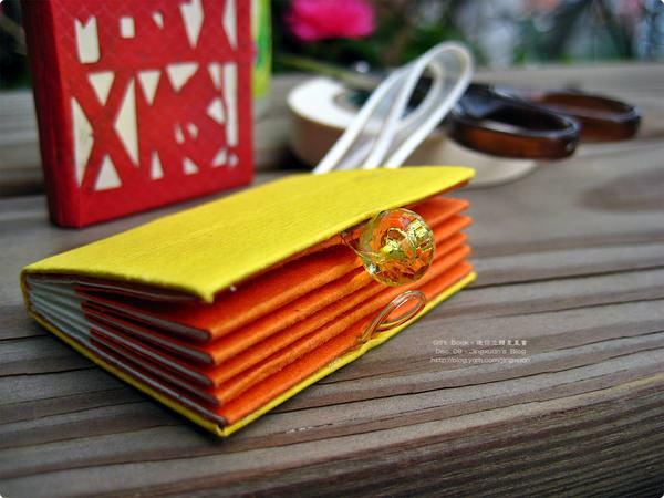 [禮物書1]Gift Book.迷你立體星星書.許願小星星與迷你簡易精裝書製作