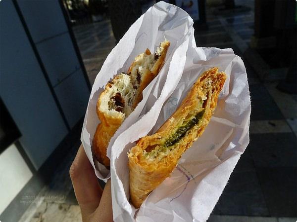 [西班牙食遊誌] 格拉納達-早餐Croissanteria La Blanca Paloma 搭乘C1巴士車到阿爾拜辛
