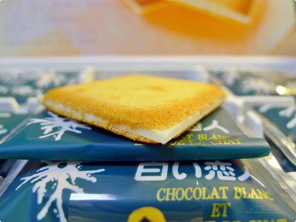 [食誌]伴手禮.北海道銘菓白い恋人 Shiroi Koibito Chocolat Blanc Et Langue De Chat, Hokkaido, Japan