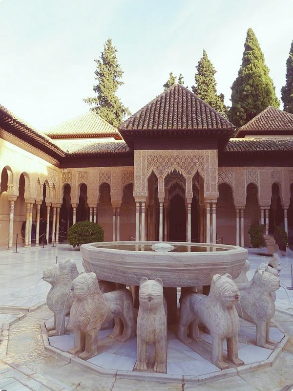 [西班牙遊記] 格拉納達 阿爾罕布拉宮-納斯里王宮 Palacios Nazaríes, Alhambra, Granada