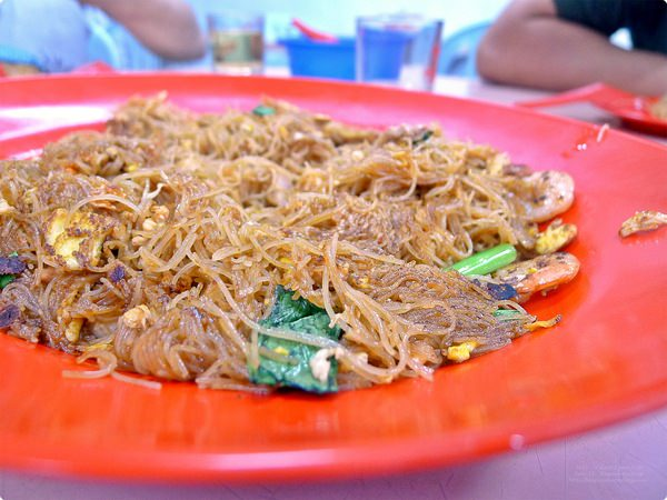 [馬新食誌] J.B., M'sia: 三樓干米粉.San-Lou Fried Bee Hoon, Restoran Ah Kaw