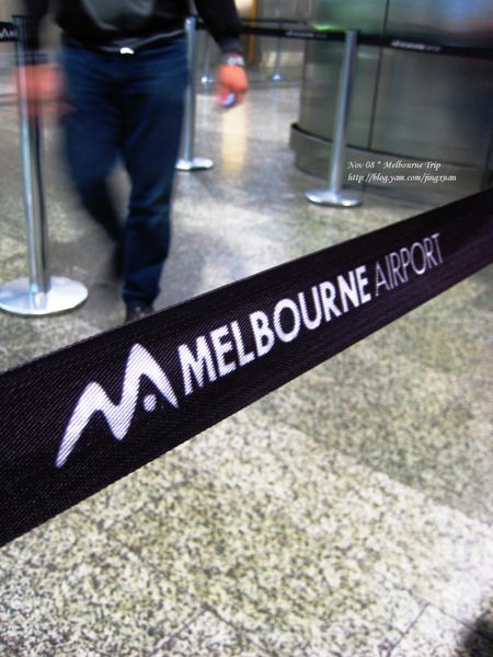 [遊誌]Inbound Flight:Melbourne Airport