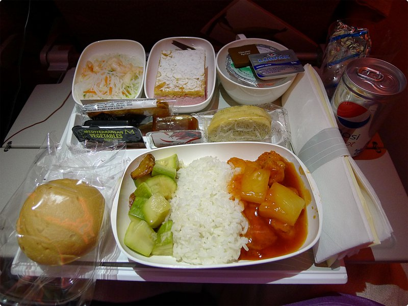 [波波食誌]Outward Flight︰阿聯酋航空餐(A380).Emirates's Airline Meal(A380)