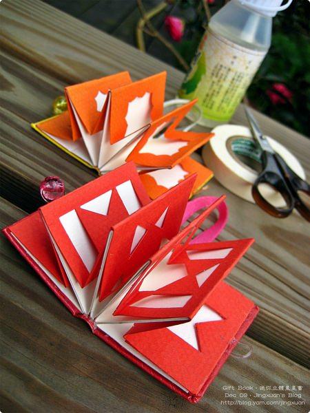[禮物書2]Gift Book.迷你立體星星書.鏤空愛心傳遞溫馨