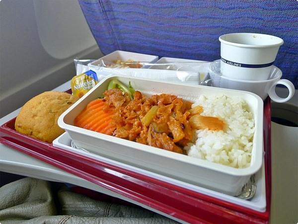 [日本食誌]Outward Flight︰華航航空餐.China Airline and Airline Meals