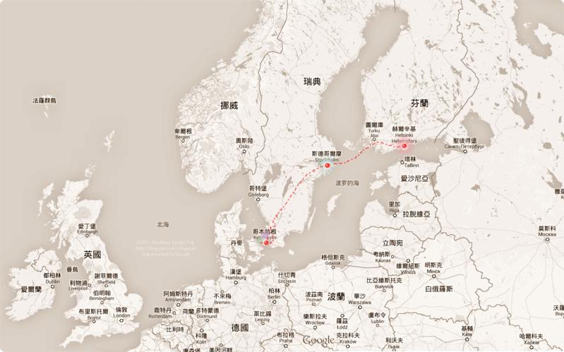 [北歐遊記] 北歐三都行前準備 N. Europe Before Trip-Helsinki, Stockholm, Copenhagen, Roskilde, Helsingør and Hillerød