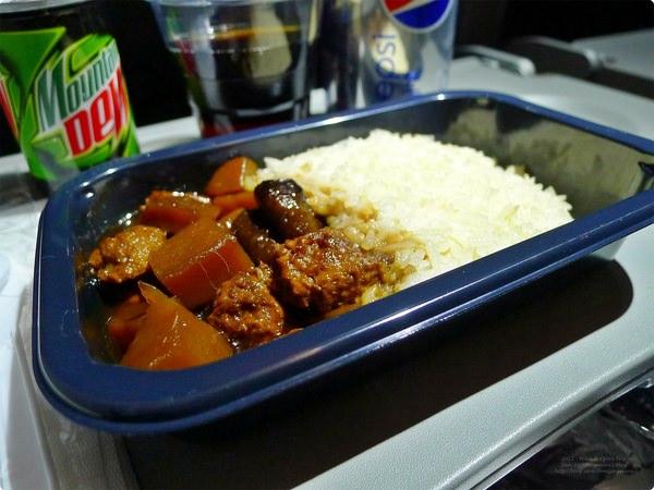 [馬新食誌]Outward Flight:捷星付費素食航空餐點.Jetstar Airline Vegetarian Meal(Dinner)