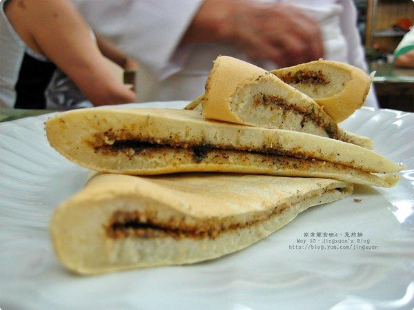 [家常葷食班4]免煎餅(花生芝麻口味)、綠豆麥片湯.Black Seasame and Peanut Pancake, Green Mung Bean Soup