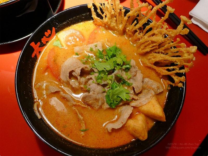 [食記] 大心新泰式麵食-重口味超過癮麵湯 推薦沙茶牛肉河粉 台北松山機場美食 Very Thai Noodles