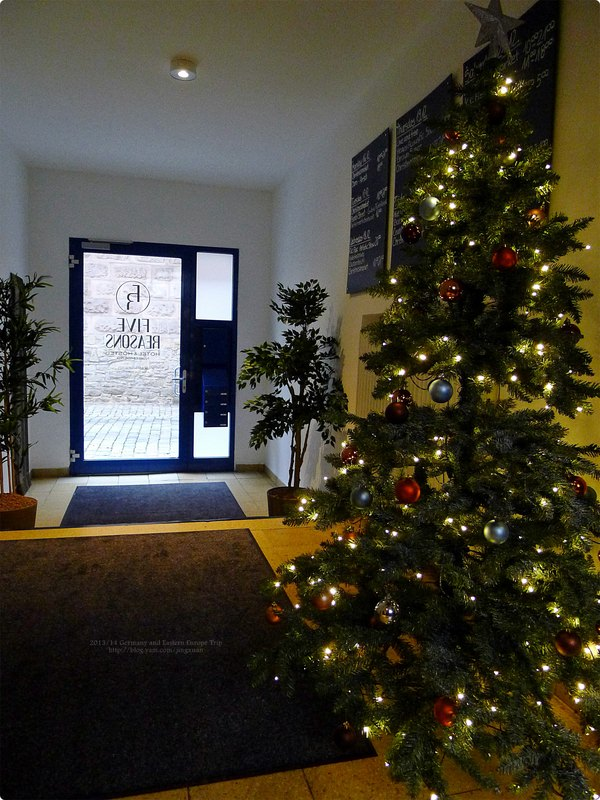 [德國遊誌]Nürnberg:紐倫堡住宿.Five Reasons Hostel and Hotel Fackelmann