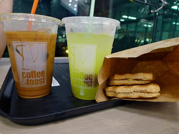 [馬新食誌]Changi Airport, S'pore:Coffee & Toast, Terminal 1