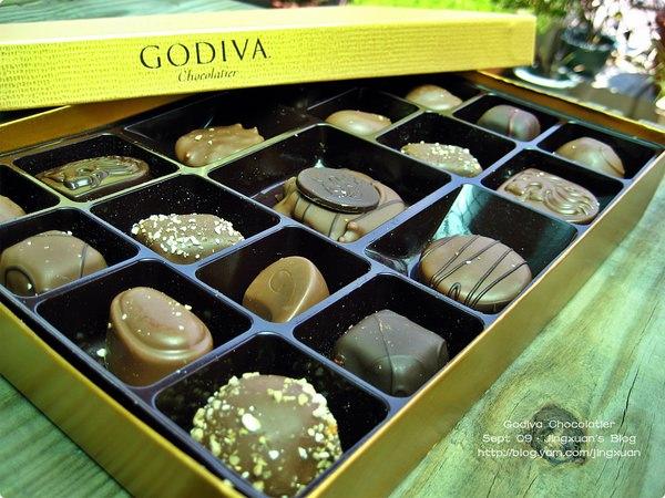 [食誌]伴手禮.戈戴娃巧克力 Godiva Chocolatier(1)