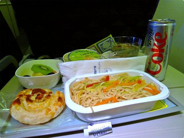 [韓國食誌]Inbound Flight:韓航素食航空餐.Korean Airline Vegetarian Meal(Breakfast)