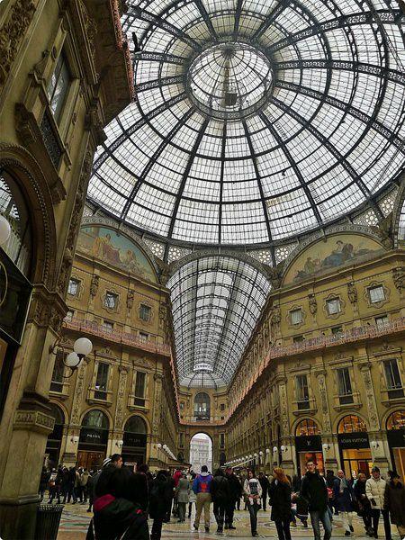 [義大利遊誌]Milan:艾紐曼二世長廊與周邊.Galleria Vittorio Emanuele ll, etc.