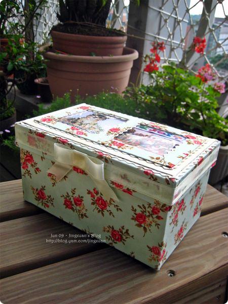 [布盒4]Le Cartonnage.上下蓋長布盒.蝴蝶結連蓋式方形布盒