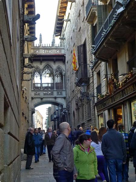 [西班牙遊誌]Barcelona:畢卡索美術館與聖加烏瑪廣場.Museu Picasso, Plaça de Sant Jaume