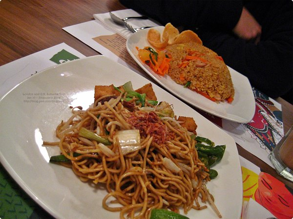 [英國食誌]London︰Dinner at Jom Makan, Westfield Shopping Centre