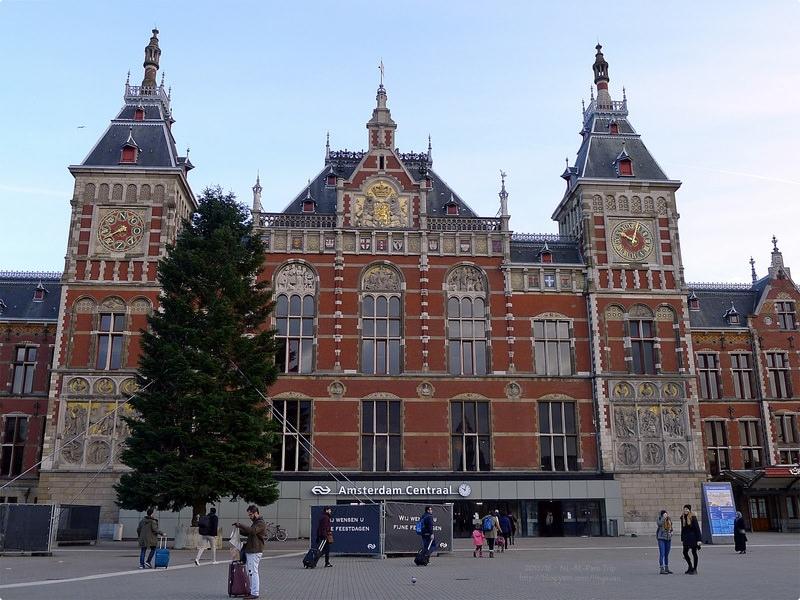 [荷比巴黎遊誌] 阿姆斯特丹火車站 新市集 唐人街與紅燈區等 Amsterdam Centraal Station, Chinatown, etc.