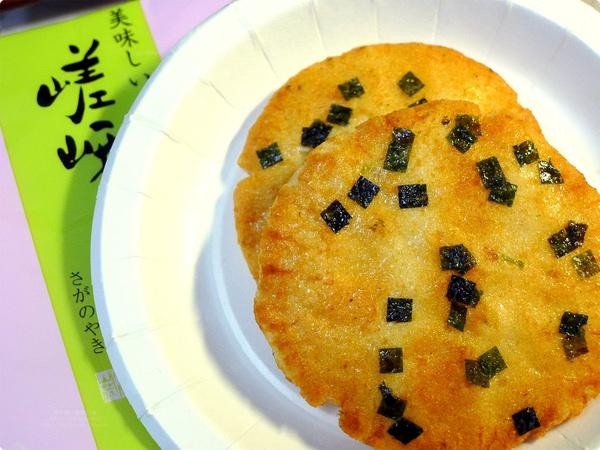 [食誌]伴手禮.嵯峨乃燒(仙貝, 日本京都)、奇華港式酥餅與美心月餅(香港) Rice Cracker (Kyoto, Japan) , Kee Wah Chinese Pastries and Maxims Mooncake (Hong Kong)