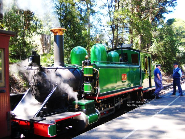 [遊誌]Puffing Billy:Inbound Train