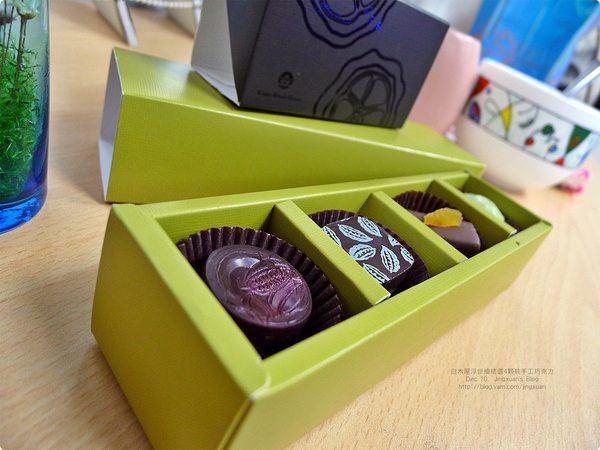 [食誌]伴手禮.白木屋浮世繪精選4顆裝手工巧克力 White-Wood House Handmade Chocolate