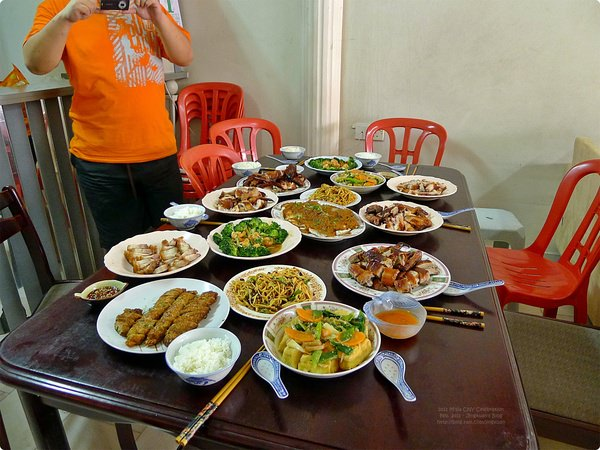 [新馬食誌]J.B., M'sia:2011 團圓飯.Family Reunion Meal prepared by Mum