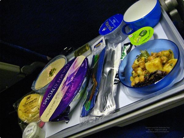 [英國食誌]Airline meal︰British Airline Veggie Meals