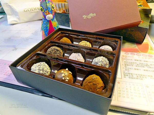 [食誌]伴手禮.戈戴娃松露巧克力禮盒 Signature Chocolate Truffle Assortment(2)