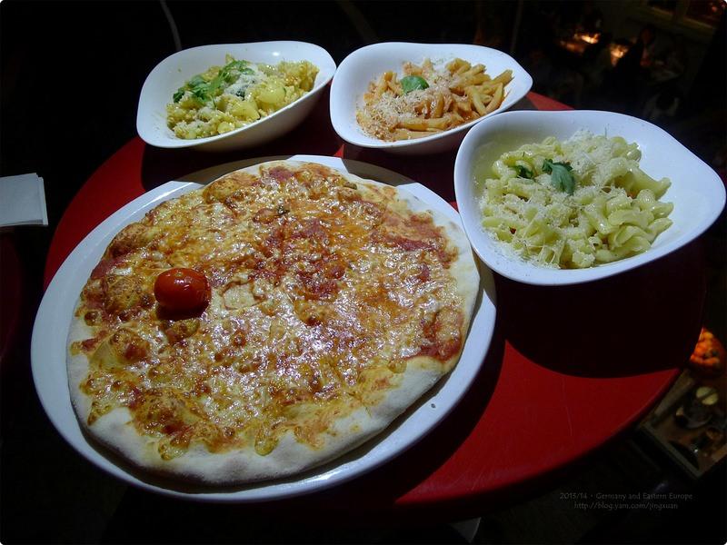 [德國食誌] 柏林-VAPIANO 近布蘭登堡門 自助點餐 平價義大利麵及比薩
