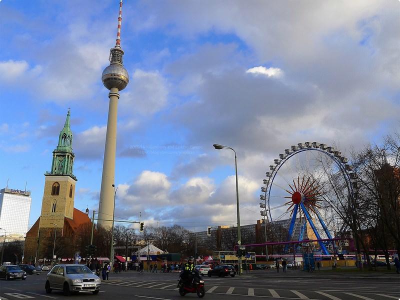 [德國遊誌]Berlin:柏林聖誕市集與電視塔等.Weihnachtsmärkte, Fernsehturm, etc.