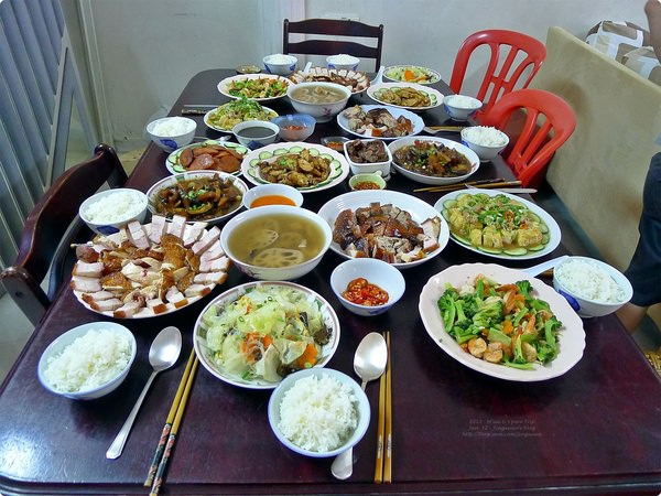 [馬新食誌]J.B., M'sia:2012 團圓飯.Family Reunion Meal prepared by Mum